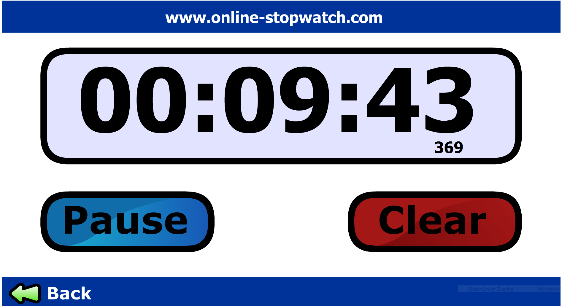 FREE online timer for non-IOS users (Browser based ...